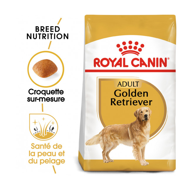 Croquettes Royal Canin Golden Retriever Adulte