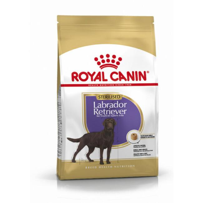 Croquettes Royal Canin Labrador Retriever Sterilised Adulte