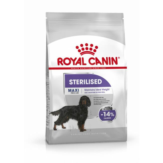 Croquettes Royal Canin MAXI STERILISED pour grand chien stérilisé