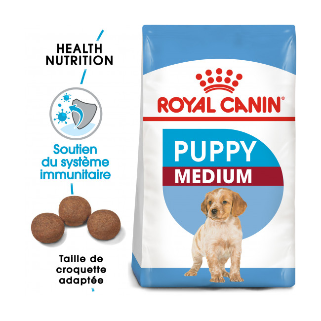 Croquettes Royal Canin Medium Puppy Junior