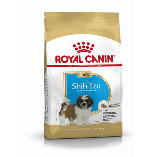 Croquettes Royal Canin Shih Tzu 28 Junior Sac 1,5 kg
