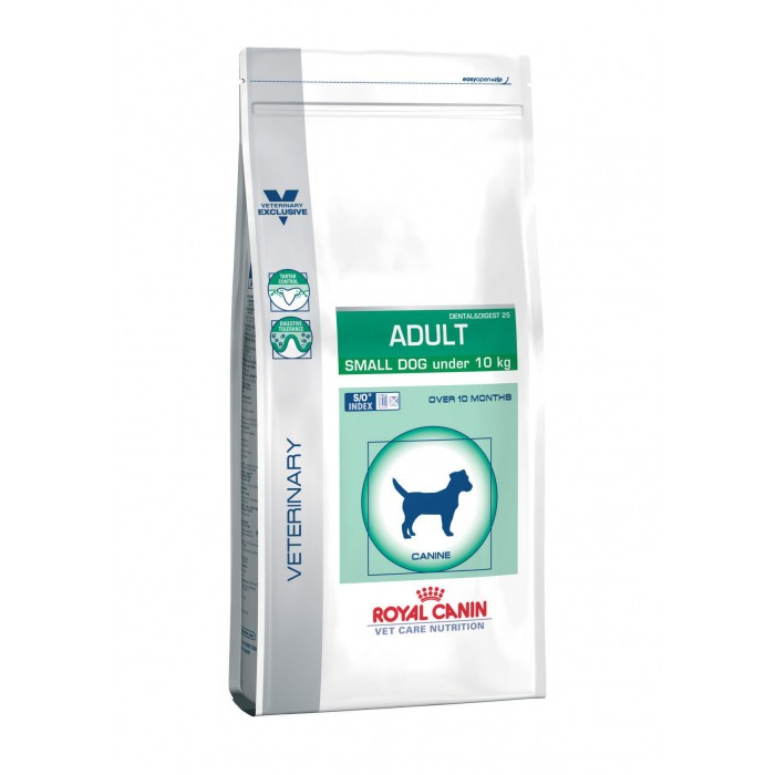 Croquettes Royal Canin Veterinary Care Adulte Small Dog Dental et Digest