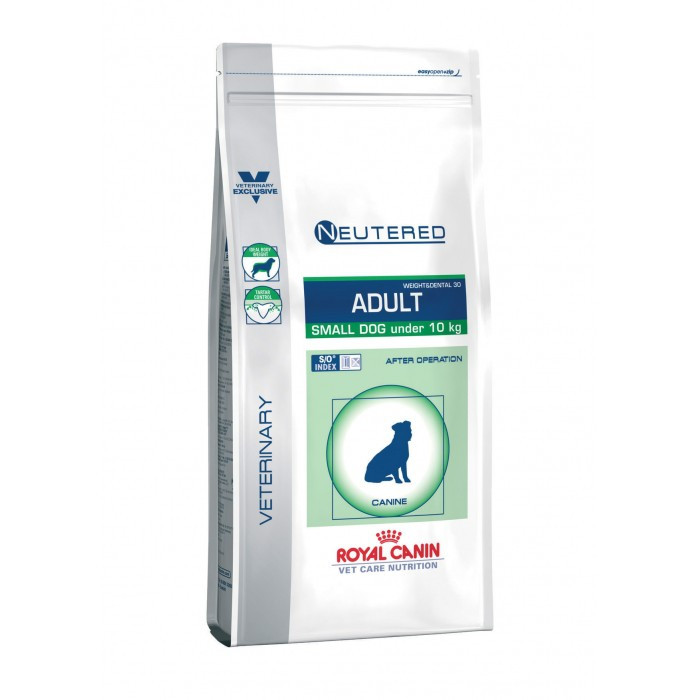 Croquettes Royal Canin Veterinary Care Neutered Adulte Small Dog Weight & Dental