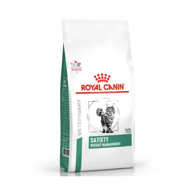 Croquettes Royal Canin Veterinary Diet Satiety Support Weight Management pour chats