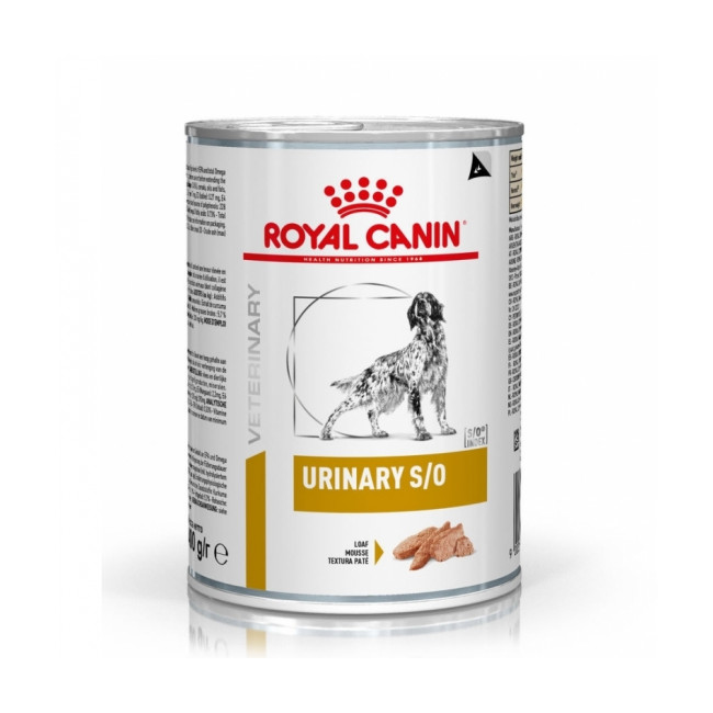 Croquettes Royal Canin Veterinary Diet Urinary S/O pour chiens