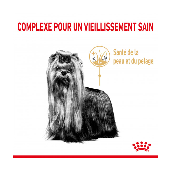 Croquettes Royal Canin Yorkshire Adulte 8+