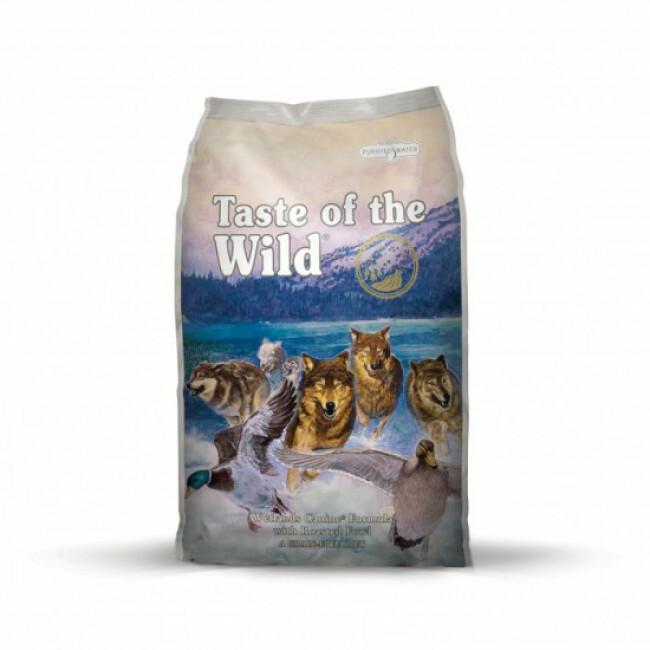 Croquettes sans céréales au canard pour chien Taste of the Wild Wetlands Sac 13 kg