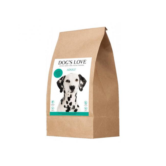 Croquettes sans céréales Dog's Love au canard pour chien