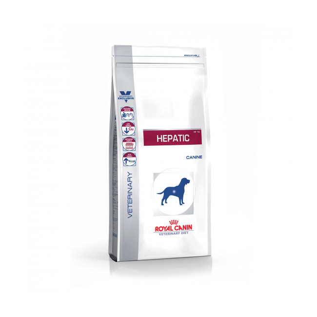 Croquettes Veterinary Diet Hepatic pour chien Royal Canin