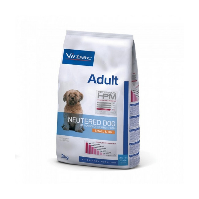 Croquettes Virbac Adult Neutered Dog Small & Toy