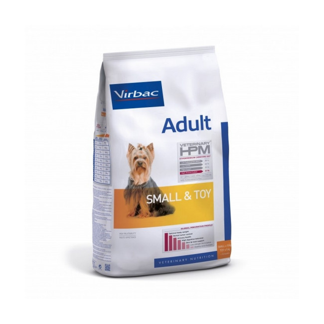 Croquettes Virbac HPM Adult Dog Small & Toy