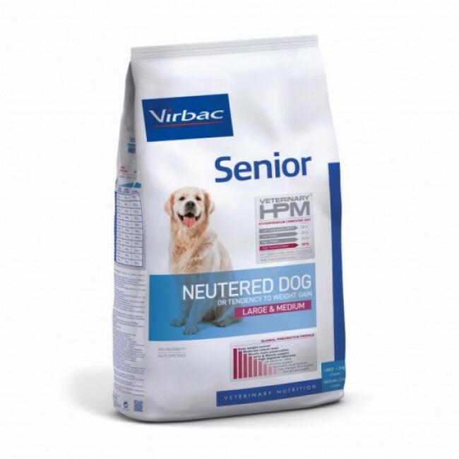 Croquettes Virbac HPM Senior Neutered Large & Medium pour chien