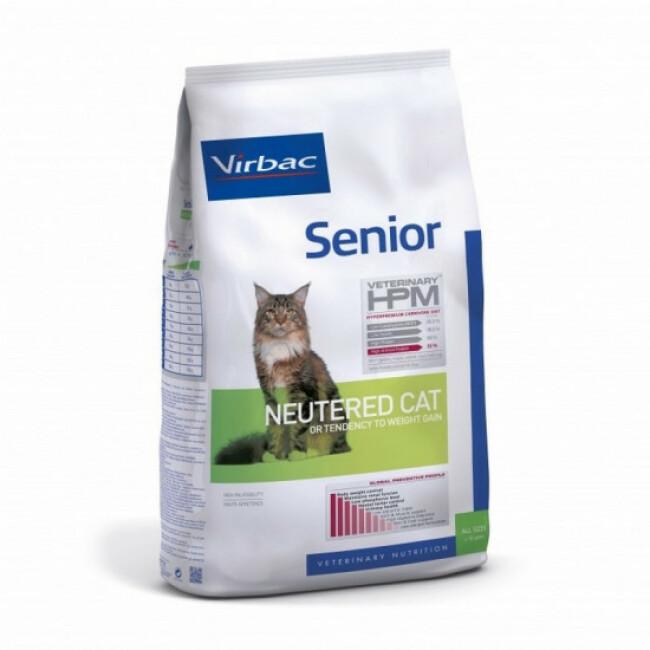 Croquettes Virbac HPM Senior Neutered pour chat
