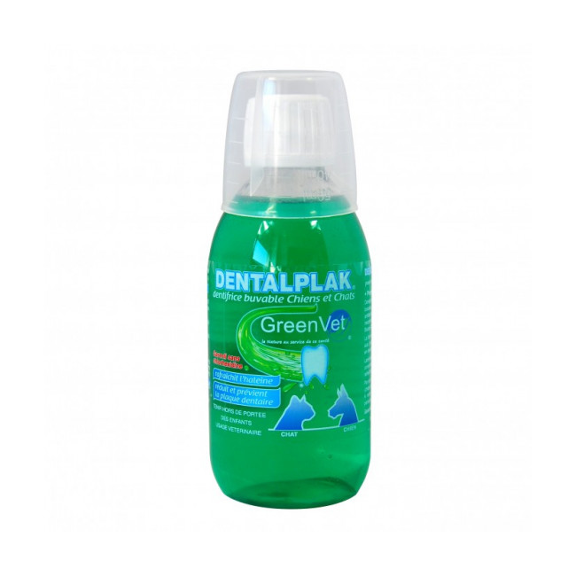 Dentifrice buvable Dentalplak Greenvet