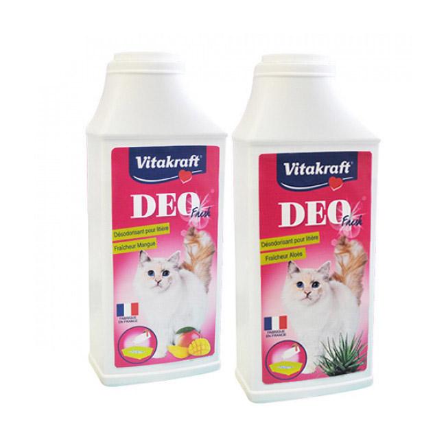 Déodorisant poudre pour litière de chat Déo Fresh