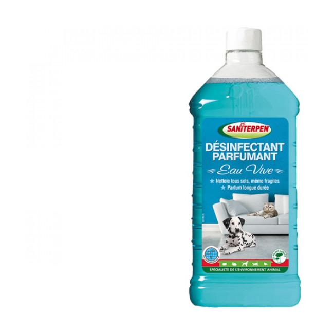 Désinfectant parfumant Saniterpen 1 litre