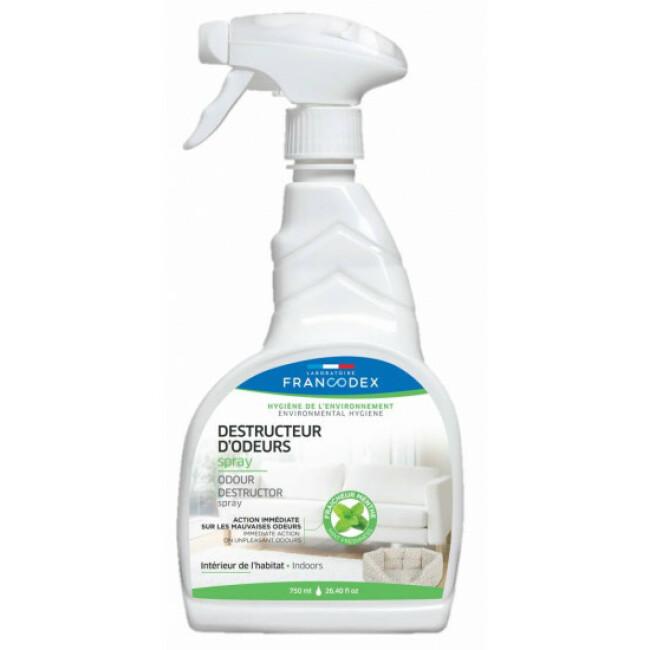Destructeur d'odeurs d'urine et de déjections animales