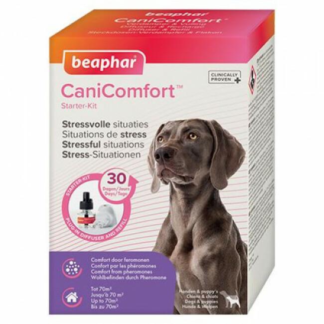 Diffuseur calmant Canicomfort aux phéromones pour chien et chiot