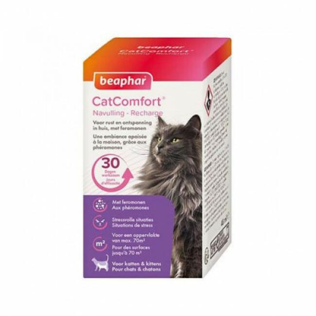 Diffuseur CatComfort calmant aux phéromones pour chats et chatons