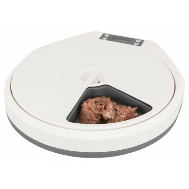 Distributeur automatique de nourriture pour chien et chat TX5 Trixie