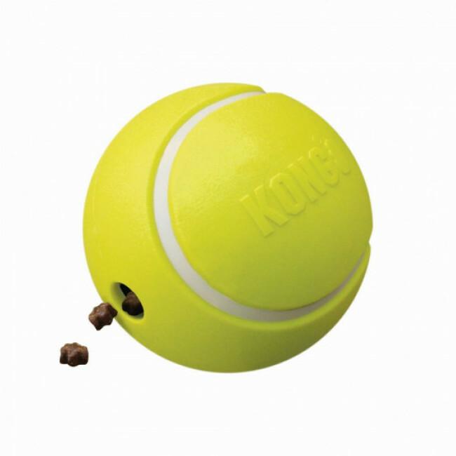 Jouet distributeur de friandises pour chien KONG Rewards Tennis