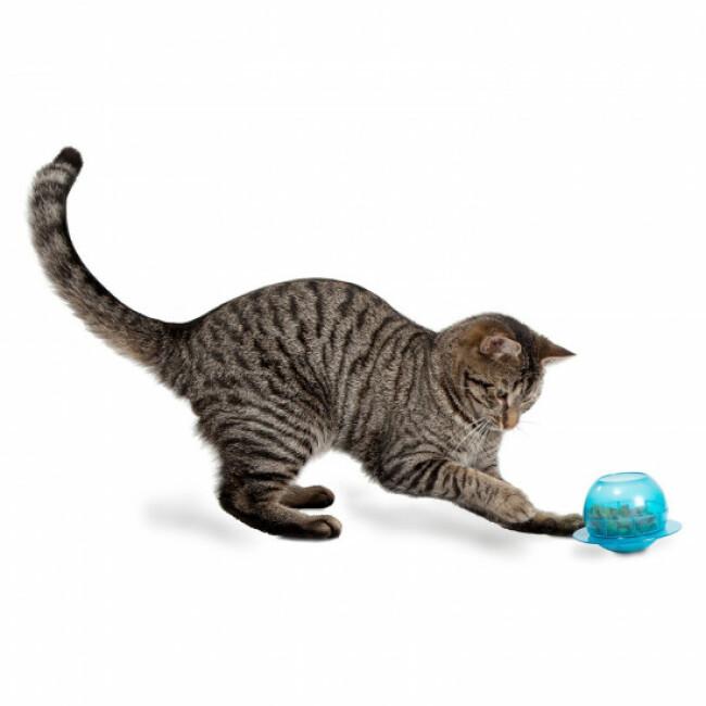 Distributeur de nourriture pour chat Fishbowl FunKitty