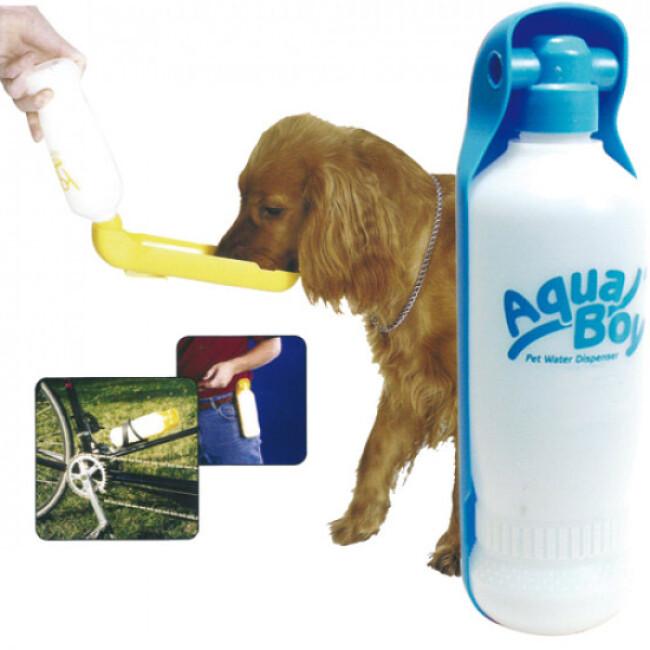 Distributeur d'eau de Voyage Aqua Boy  pour chien