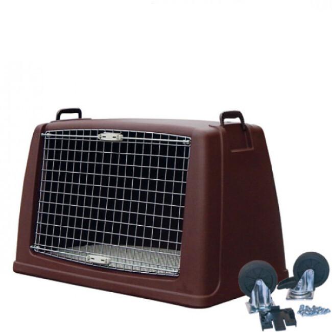 Cage de transport pour chien Dog Box Argo en largeur