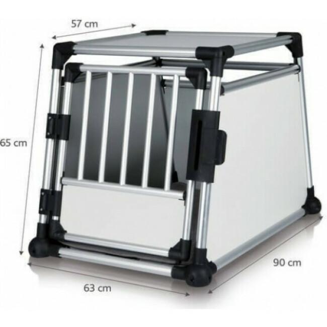 Dog Box Autolux™ cage de transport voiture pour 1 ou 2 chiens