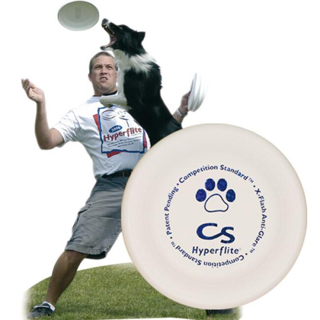 Dogfrisbee compétition pour chien
