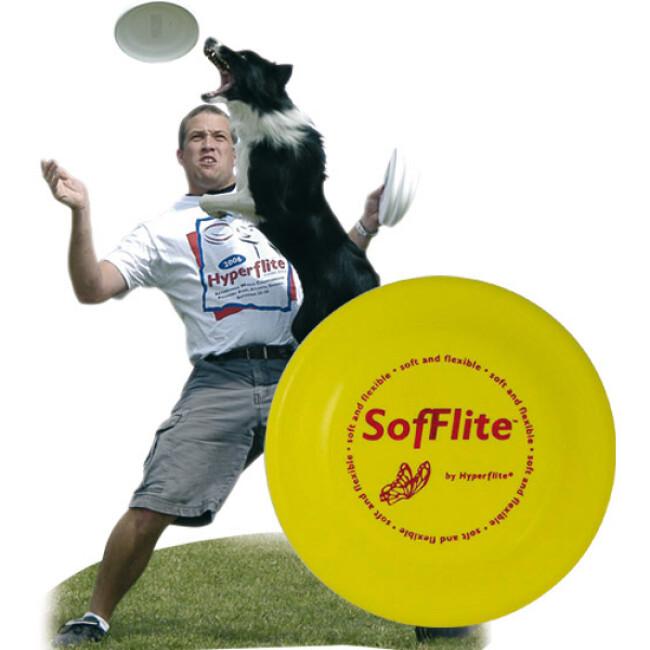 Dogfrisbee d'initiation Sofflite pour chien