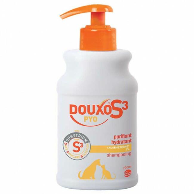 Douxo désinfectant Pyo shampooing pour animaux