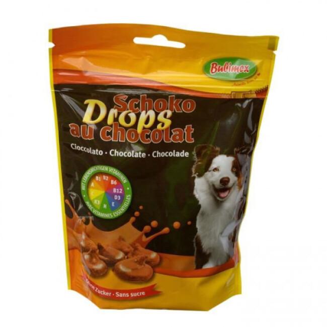 Drops au chocolat friandises pour chien