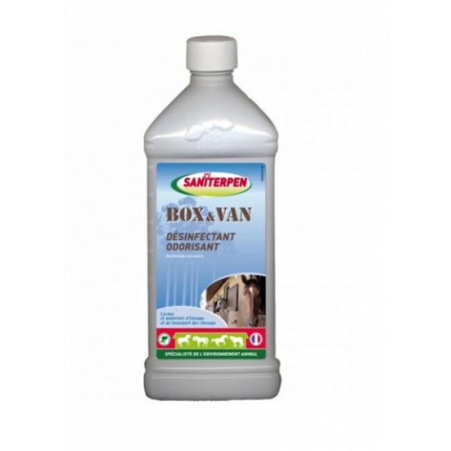 Désinfectant odorisant pour locaux et matériels d'élevage Box & Van