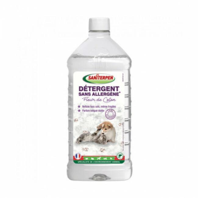 Détergent sans allergène Fleur de coton Saniterpen 1 L
