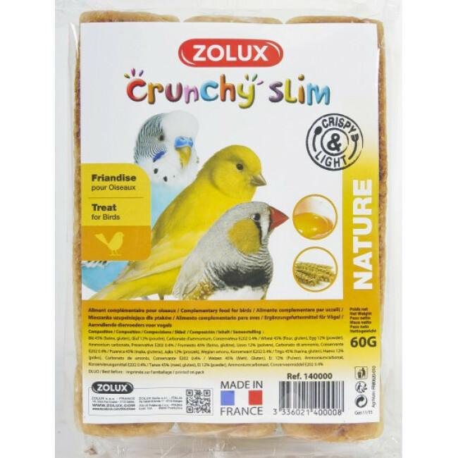 Echaudés Nutrislim Nature 60 g pour oiseaux