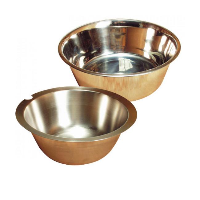 Ecuelle eau & croquette chien & chat inox simple