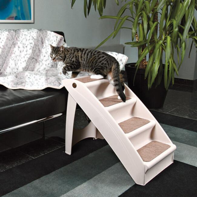 Escalier mobile et pliant Petwalk pour chien et chat