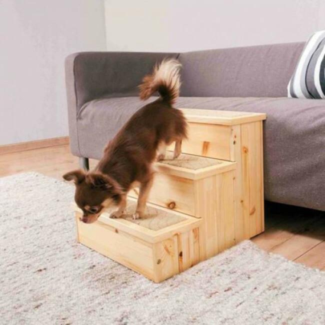 Escalier pour chien PetStair Trixie en bois