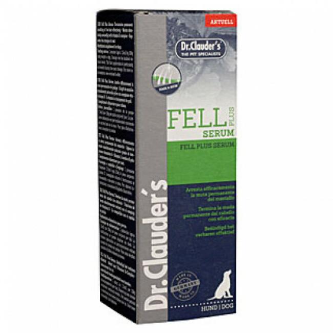 Fell Serum Plus Dr Clauder's spécial mue permanente du pelage - 100 mL