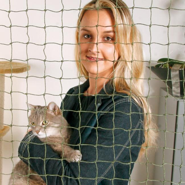 Filet de sécurité habitation pour chat et petit chien