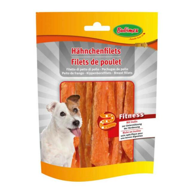Filets de poulet Bubimex Fitness pour chien