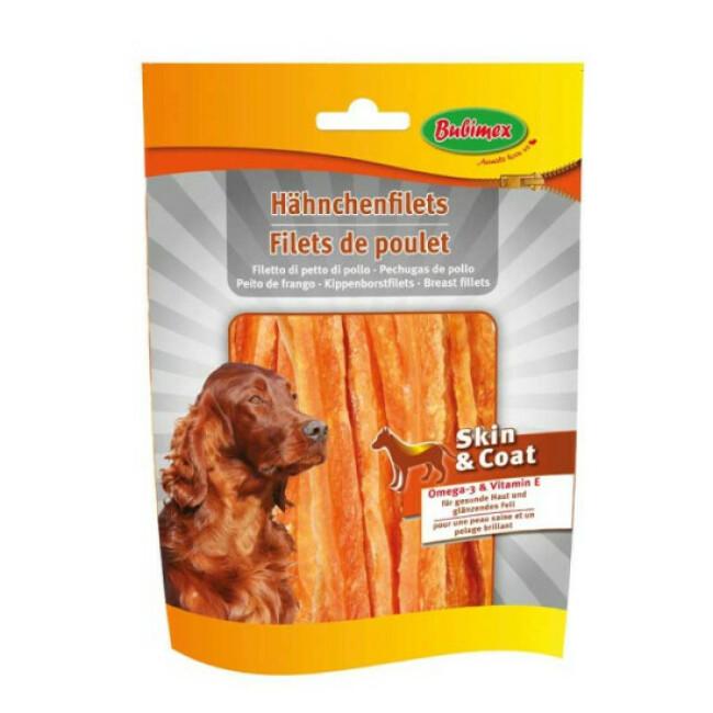 Filets de poulet Bubimex Skin and Coat pour chien