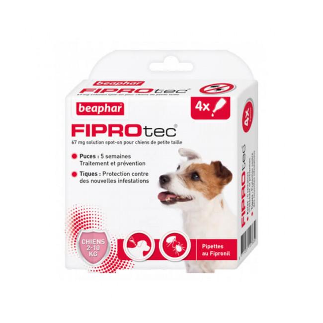 Fiprodog pipettes antiparasitaires pour chien