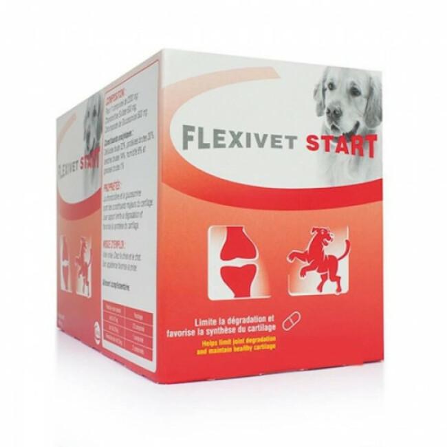 Flexivet Start and Go pour chien et chat souffrant d'arthrite ou d'arthrose