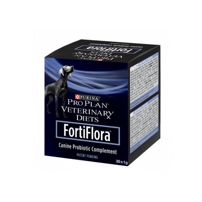 Fortiflora pour chien Purina Veterinary Diet Pro Plan Boîte de 30 sachets de 1 g