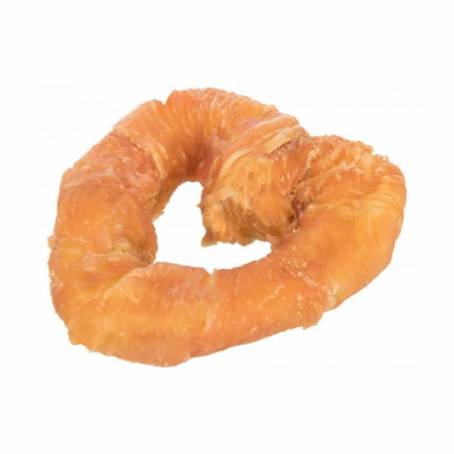 Friandise Denta Fun pour chien cœur de poulet - 70 g