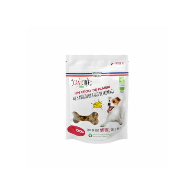 Friandises Bio Canichef au fromage pour chien