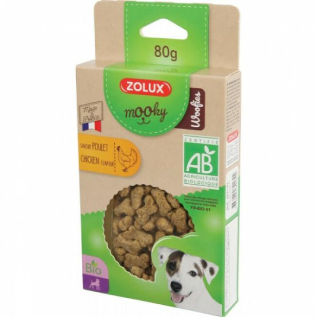 Friandises biologiques pour chien Mooky