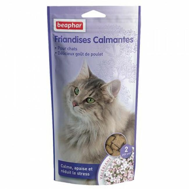 Friandises calmantes à la Valériane pour chat Beaphar